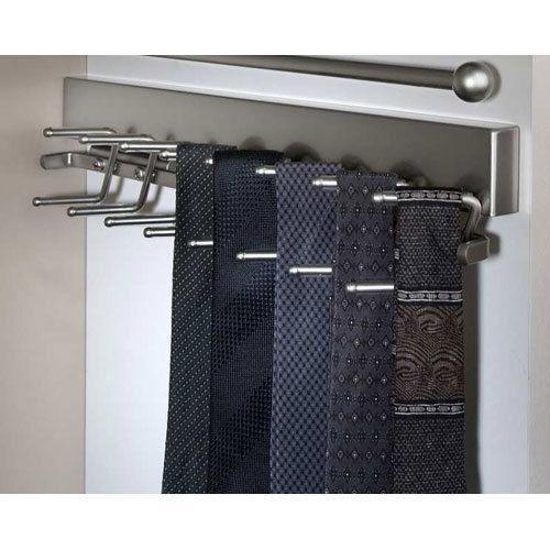 Best Tie Racks For Closets: Sliding Tie Rack: Home & Garden