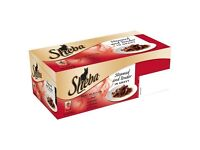 Sheba Steamed & Tender Meat Selection in Gravy Cat Food Pouches 48 pk. SPECIAL OFFER PRICE
