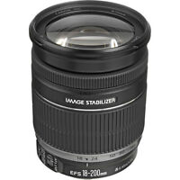 Canon EF-S 18-200mm f/3.5-5.6 IS Lens + Polarizer filter