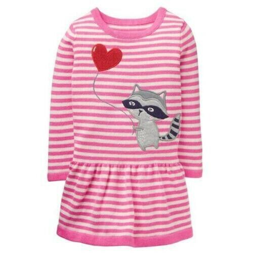 Gymboree Sweetheart Shop Raccoon Valentine