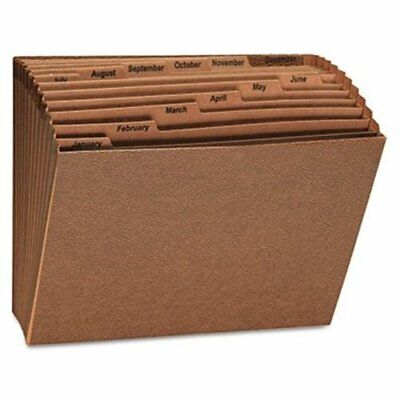 Universal Office Products 13930 Leather-like Expanding File Open Top 12 X 10