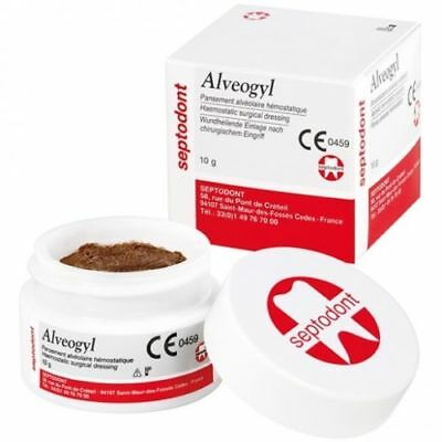 Dental New Alvogyl Alveogyl Paste 10gm Dry Socket Treatment