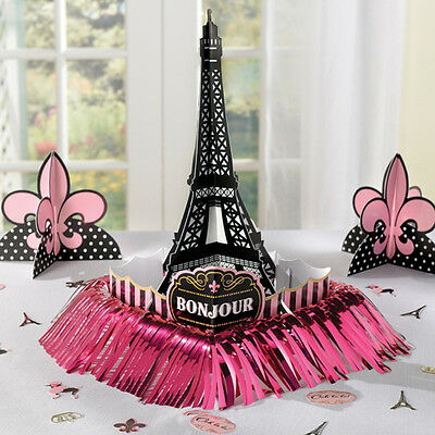 BRIDAL SHOWER Day in Paris TABLE DECORATING KIT (23pc) ~ Party Supplies Confetti