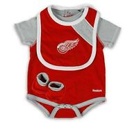 Detroit Red Wings Baby Clothes