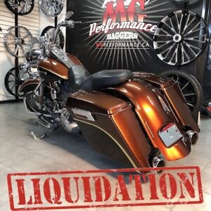 2008 HARLEY DAVIDSON CVO ROAD KING SCREAMIN EAGLE FLHR, FLHRSE,