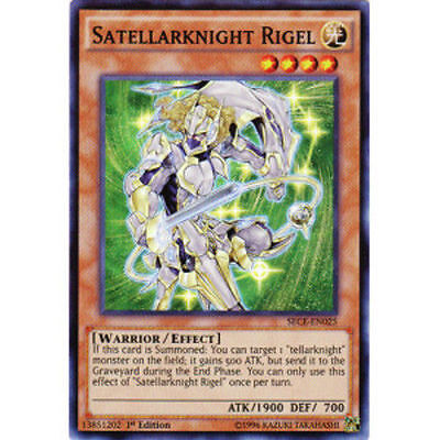 Satellarknight Rigel   Super Rare 1St Edition Mint   Sece En025