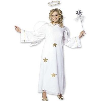 TOP Star Engel Kostüm Erwachsene Weihnachten Engelkostüm Verkleidung Engel S M L ()