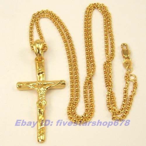 18k solid gold chain necklace ebay. Black Bedroom Furniture Sets. Home Design Ideas