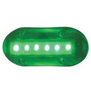 Led fishing light ebay for Green led fishing lights