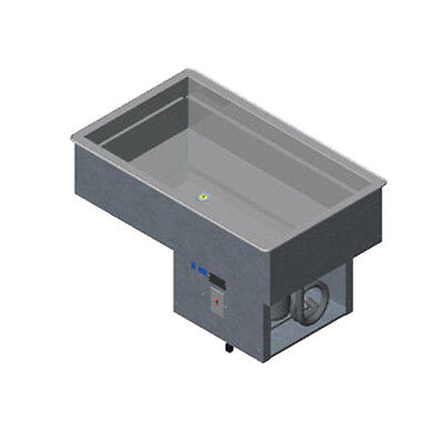 Vollrath 36434 4-pan Drop In Nsf7 Refrigerated Cold Pan
