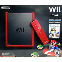 Nintendo Wii Mini Mario Kart Bundle