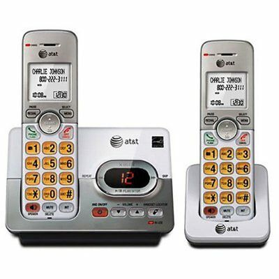 AT&T 2 Handset Cordless Phone - Answering Machine (EL52203) - FREE SHIPPING™