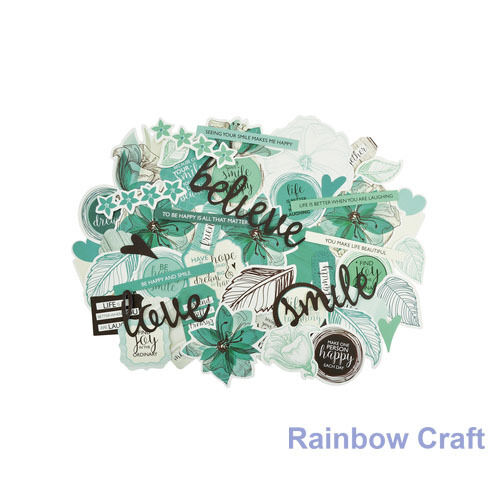 2016-2019 Kaisercraft Die Cuts Scrapbooking collectables 62 option Embellishment - Sea Breeze