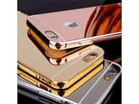 New Unused Iphone 6 Mirror Case, Rose Gold, Silver and Gold