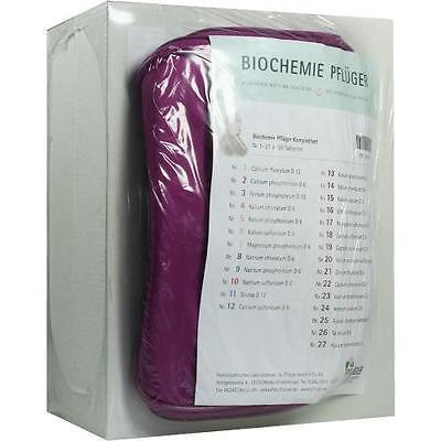 Schuessler Schüssler Salze (Schüssler - Salze 1-27 BIOCHEMIE KOMPLETT-SET 5919788)