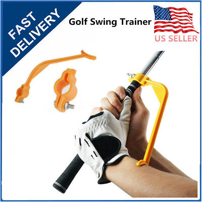 Golf Beginner Gesture Alignment Swing Trainer Training Aids Practice Guide Tools