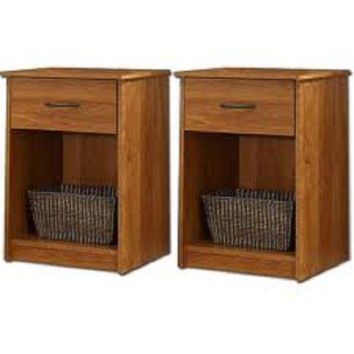 set of 2 nightstands ebay. Black Bedroom Furniture Sets. Home Design Ideas