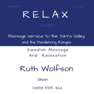 Relax massage Silvan Yarra Ranges Preview