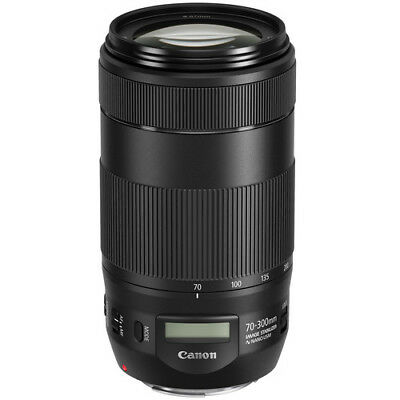 Canon EF 70-300mm f/4-5.6 IS II USM Lens for Canon Digital SLR Cameras NEW!
