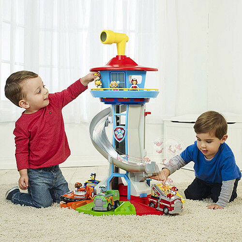 Toys Boys Paw Patrol Lookout Tower Lights Sound Birthday Gif