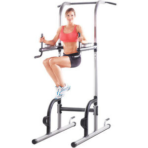 Power-Tower-Pull-Push-Chin-Up-Bar-Exercise-Dip-Station ...