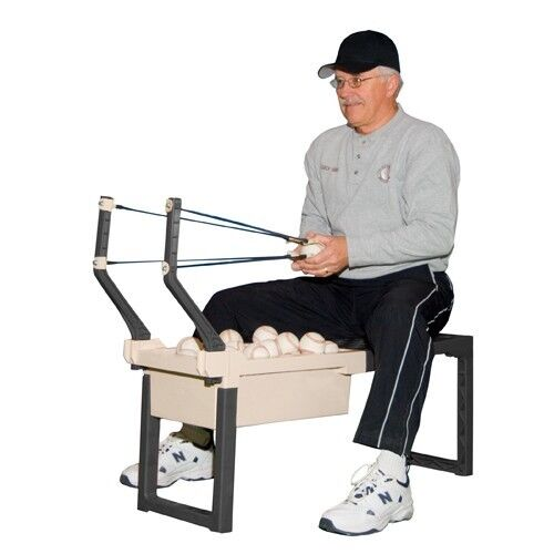 Softball and Baseball Pitching and Training Aid by Sling Pitcher