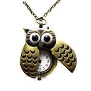 Eule Uhr