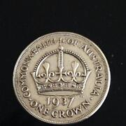Australian Silver Crown Coin