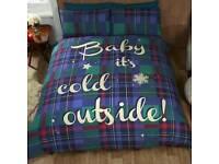 Baby it's cold outside duvet Set
