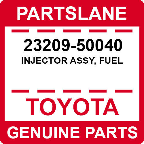 23209-50040 Toyota Oem Genuine Injector Assy, Fuel