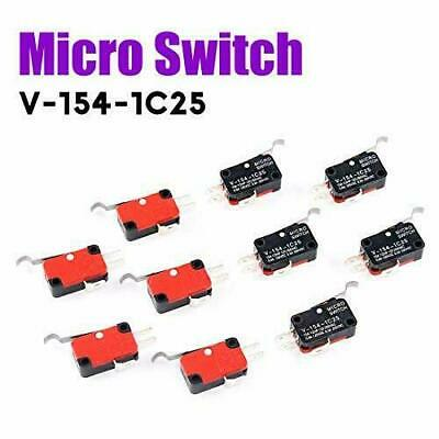 10pcs V-154-1c25 Momentary Limit Micro Switch Spdt Snap Action Switch