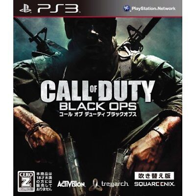 Used PS3 Call of Duty: Black Ops Dubbed Edition Best Version Japan