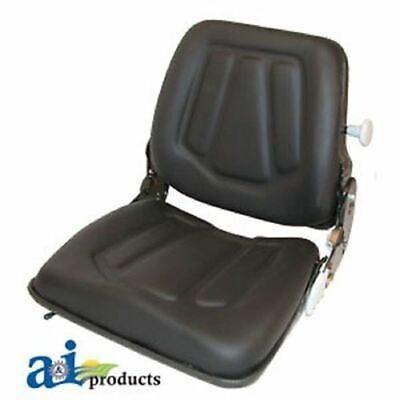 Fls122bl Case-ih Forklift Skid Steer Seat For Models 440ct 1838 40xt 420 440