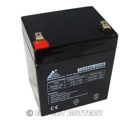 12v 5ah battery ebay. Black Bedroom Furniture Sets. Home Design Ideas