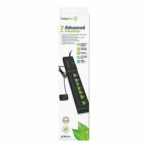 TrickleStar 7 Outlet AV Advanced PowerStrip+ Energy Saving F