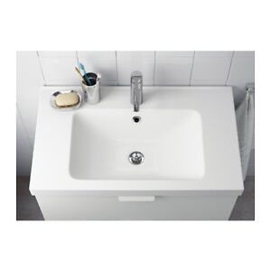 Ikea Odensvik Ceramic Bathroom Sink