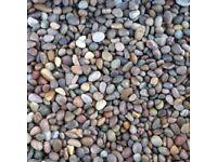 Scottish Pebbles 14-20mm - Gravel/aggregate (700kg)
