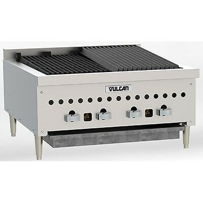 Vulcan Vccb25 Counter Gas Charbroiler 25 14 Wide Natural Gas Or Propane