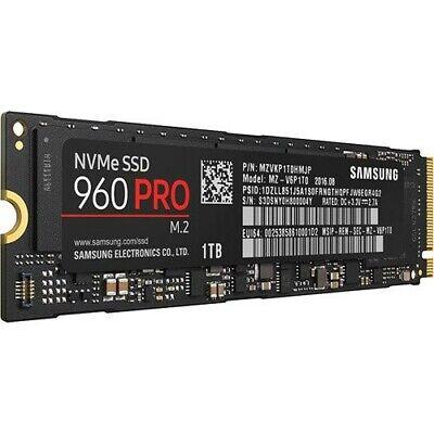 SAMSUNG 960 PRO 1TB NVMe M.2 Internal SSD Solid State Drive PCI-e 3.0 x4 MLC
