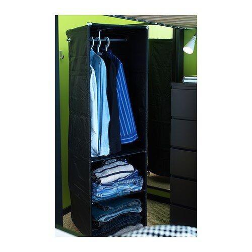 IKEA PS wardrobe tidy BLACK