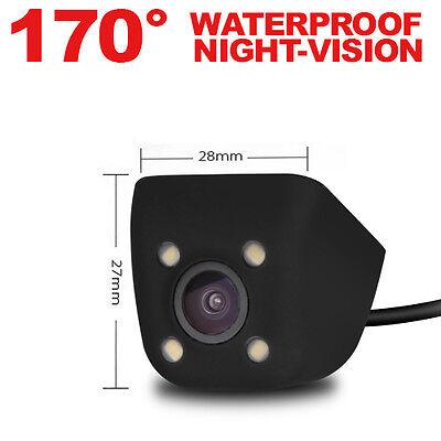 XTRONS 170° HD Waterproof Car Rear View Reversing Backup Full Color Camera Mini