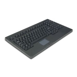 USB Rackmount / POS Keyboard with Touchpad Brand New KB-730BU