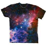 Galaxy Print Shirt | eBay