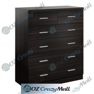 6 Drawers Chest Tallboy Dresser Table Cabinet