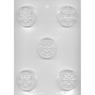 SNOWFLAKE ASSTD SHAPES COOKIE CHOCOLATE CANDY MOLD DIY CHRISTMAS FAVORS FROZEN (Snowflake Candy)