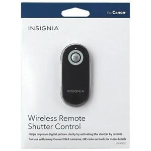 Insignia NS-WSCC-C Remote Wireless Shutter Control for Canon (Open Box)