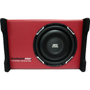 MTX 10 Slim Shallow Subwoofer with enclosure Like New