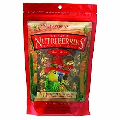 LAFEBER'S El Paso Nutri-Berries Pet Bird Food, 10 OZ