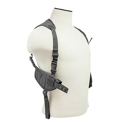NcSTAR Tactical Shoulder Holster w/ Magazine Holder Urban Gray