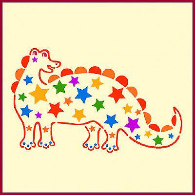 DINOSAUR 2 STENCIL - CHILDREN'S STENCILS-  The Artful Stencil